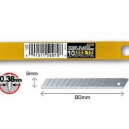 Лезвие OLFA  ASB-10 сегментированное, 9мм, 10шт