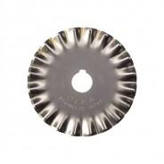 Лезвие OLFA PIB45-1 фигурное, круговое, малая волна. 45мм