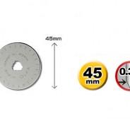 Лезвие OLFA RB45-1 круглое 45х0.3мм. 1шт